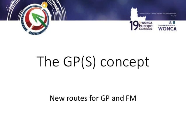 The GP(S) concept New routes for GP and FM