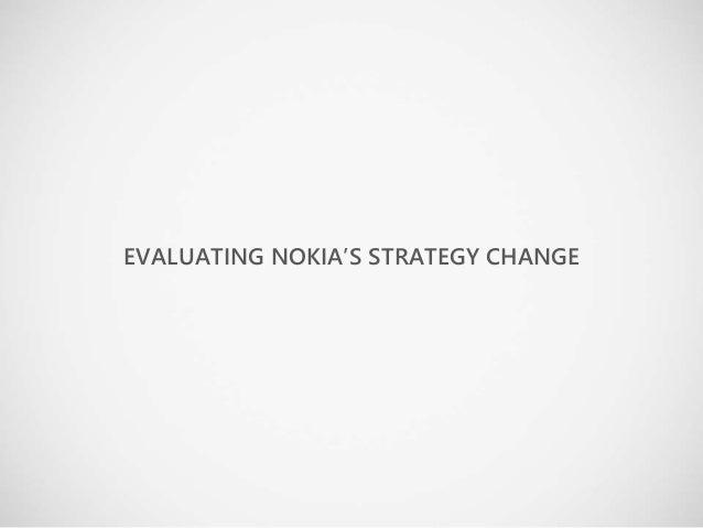 nokia organization change