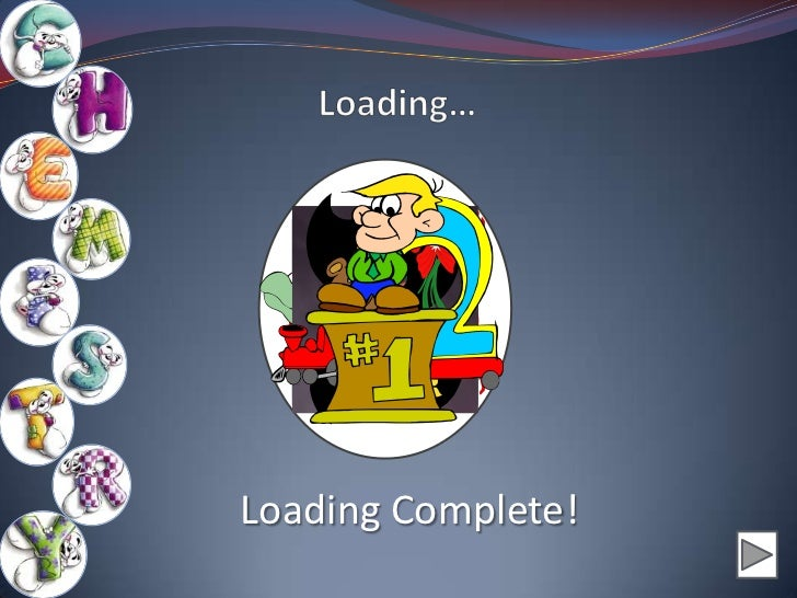 Loading Complete!