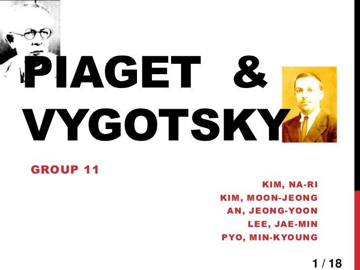 PIAGET &VYGOTSKYGROUP 11                 KIM, NA-RI           KIM, MOON-JEONG            AN, JEONG-YOON               LEE,...