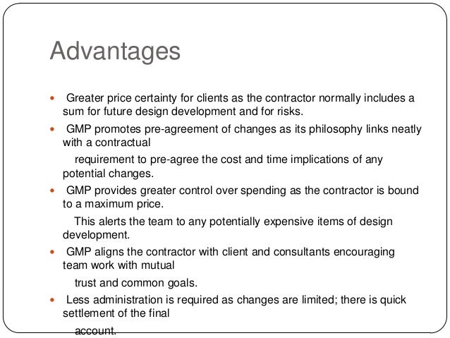 Design and build contract cost certainty contracts and its for Cost plus building contract