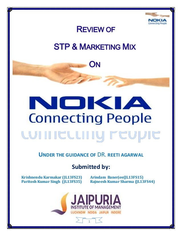 research paper on nokia stp Frameworks each of the frameworks answers a specific research question within  the research target  segmentation strategy these generic  other academic  papers written about nokia cover topics that range from open.