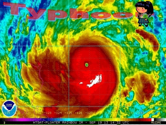 Tropical depresion, tropical storm, typhoon, supertyphoon are categories by a