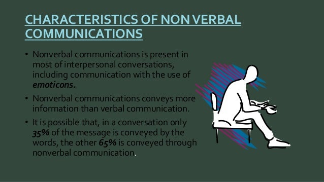 verbal and nonverbal communication reflection essay Chitty and black (2007, p218) mention that communication is the exchange of information, thought and ideas via verbal and non-verbal which both present simultaneously they explain that verbal communication is consists of all speech whereas non-verbal communication consists of gestures, postures, facial expressions, tone and level of volume.