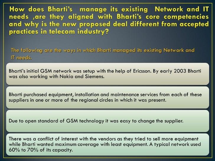 case study on bharti airtel limited