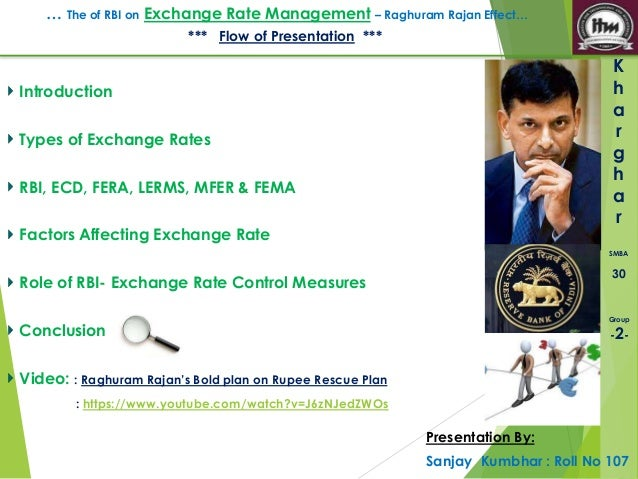 Forex management by rbi