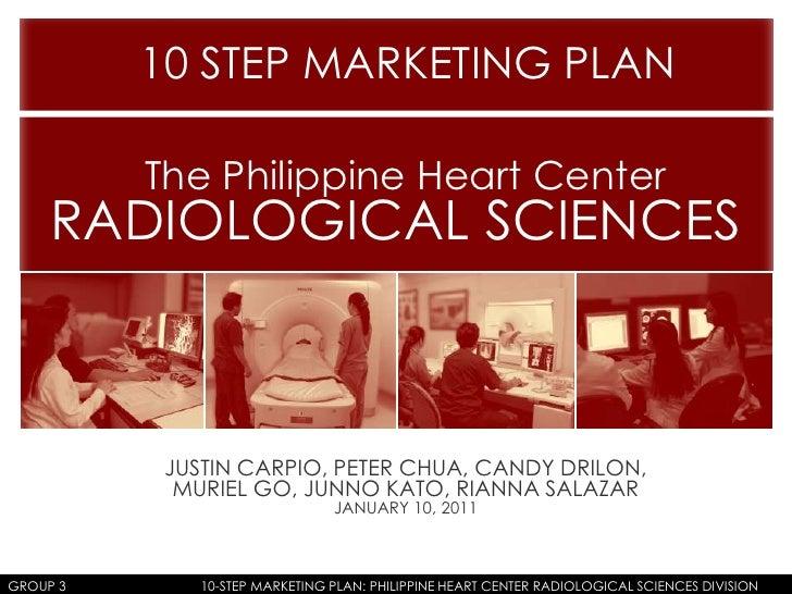 Group 3 - 10 step marketing plan