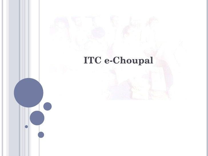 ITC e-Choupal