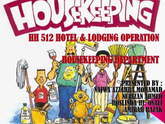 • House-keeping is one of the largest departments of the hotel which is responsible for creating cleanliness, maintenance ...
