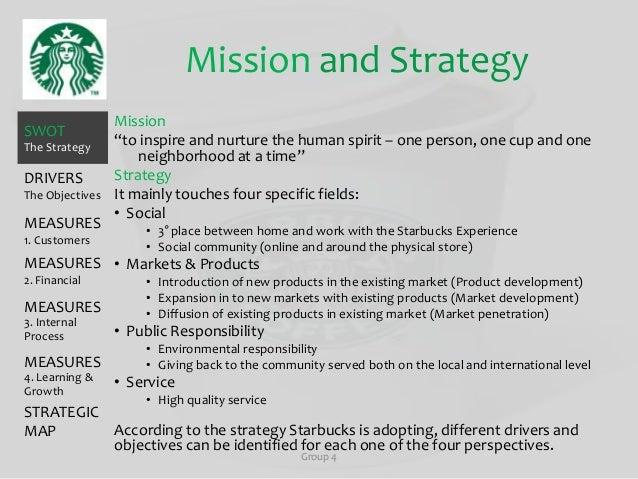 strategic fit analysis of starbucks coffee
