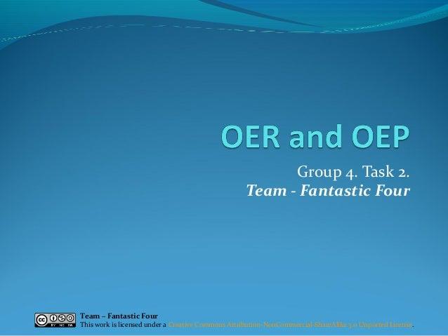 Fantastic Four (Group 4) - OER & OEP