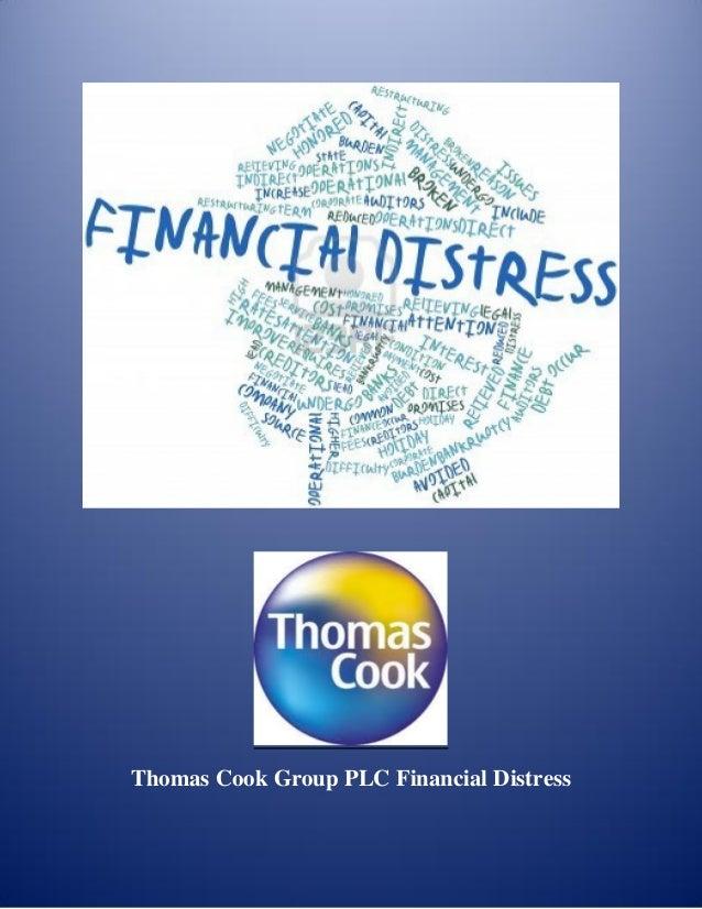 Thomas Cook Group PLC Financial Distress