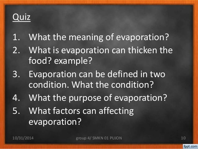 What is an Evaporation Line What is Evaporation Can