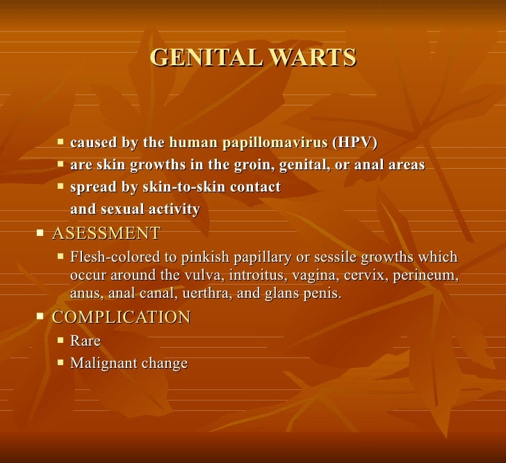 how to know if you have genital warts female