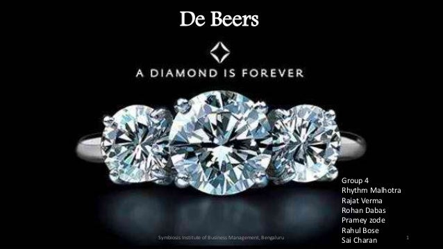de beers and the global diamond industry case study answers De beers is a family of companies that dominate the diamond, diamond mining, diamond trading and industrial diamond manufacturing sectors de beers is active in every category of industrial diamond mining: open-pit, underground, large-scale alluvial, coastal and deep sea.