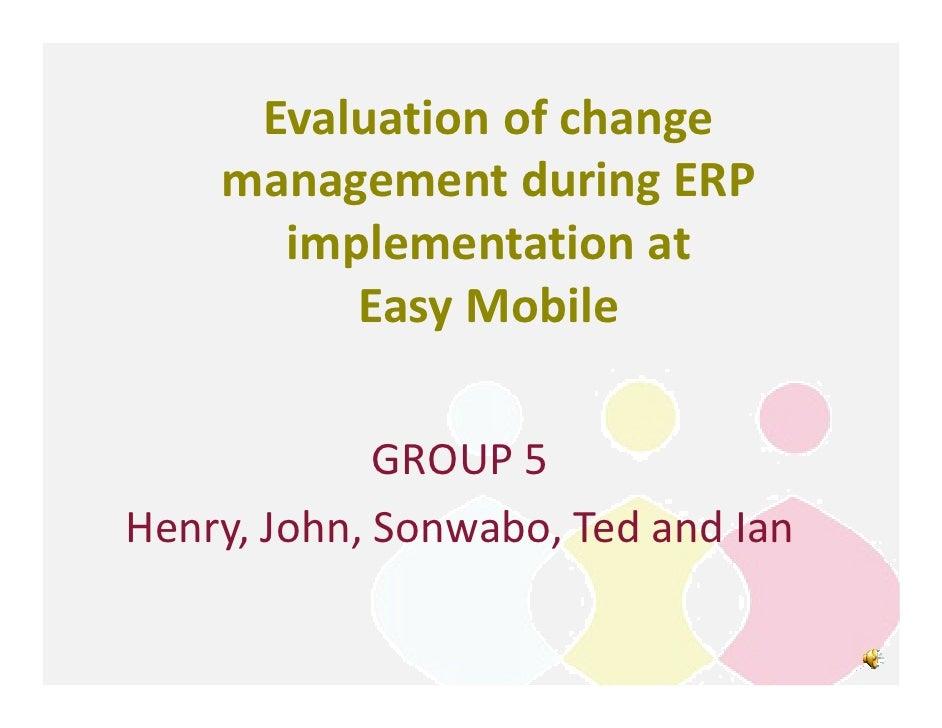 Group 5   change management presentation