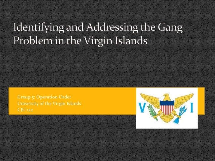 Criminal Law 122 Spring 2012 Professor Whitaker Group 5: Operation Order