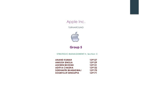 Apple: Turnaround