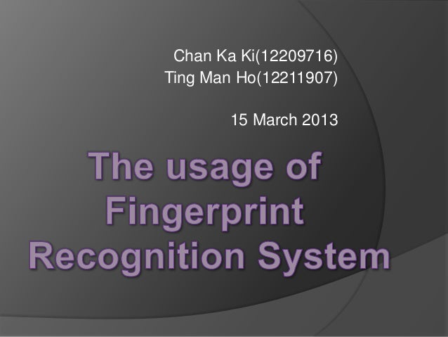 Chan Ka Ki(12209716)Ting Man Ho(12211907)15 March 2013