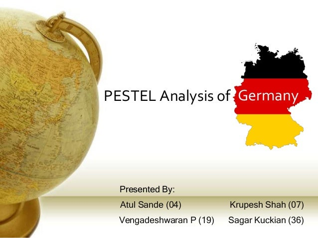 germany pestel analysis An analysis of new maple products introductions in germany as well as an  analysis of new  a growing trend toward health and wellness in germany  presents.