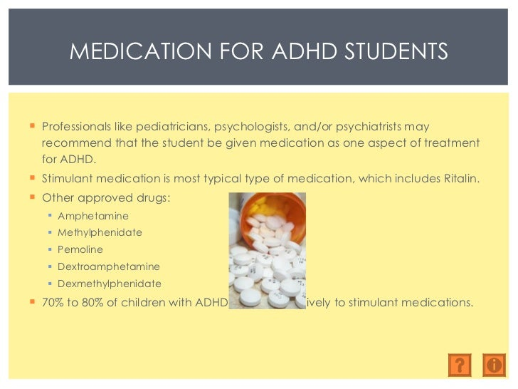 the treatment of adhd with ritalin and other stimulants