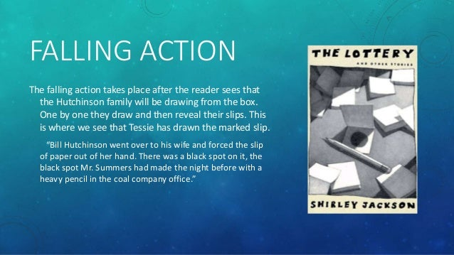 summary of the lottery by shirley Quick answer the lottery by shirley jackson is a horror story in which a small new england town holds a lottery to determine who will be the yearly human sacrifice.