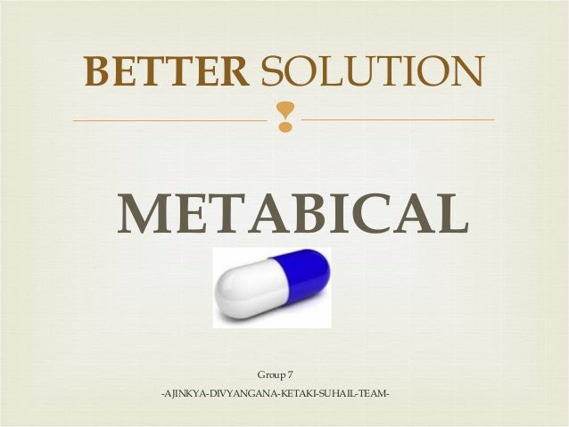 how does metabical compare to current weight loss options