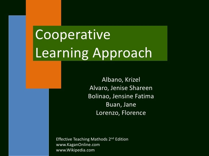 CooperativeLearning Approach                        Albano, Krizel                   Alvaro, Jenise Shareen               ...