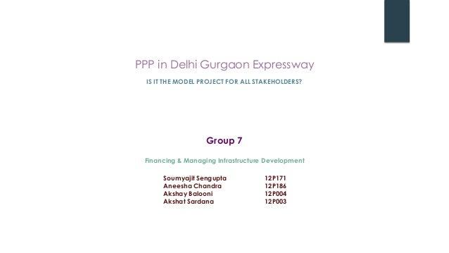 Delhi Gurgaon Expressway PPP