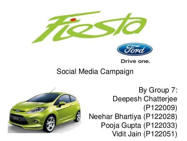 Ford Fiesta Social Media Campaign