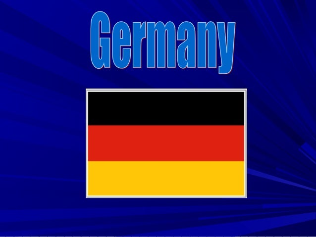 A bit about GermanyA bit about Germany