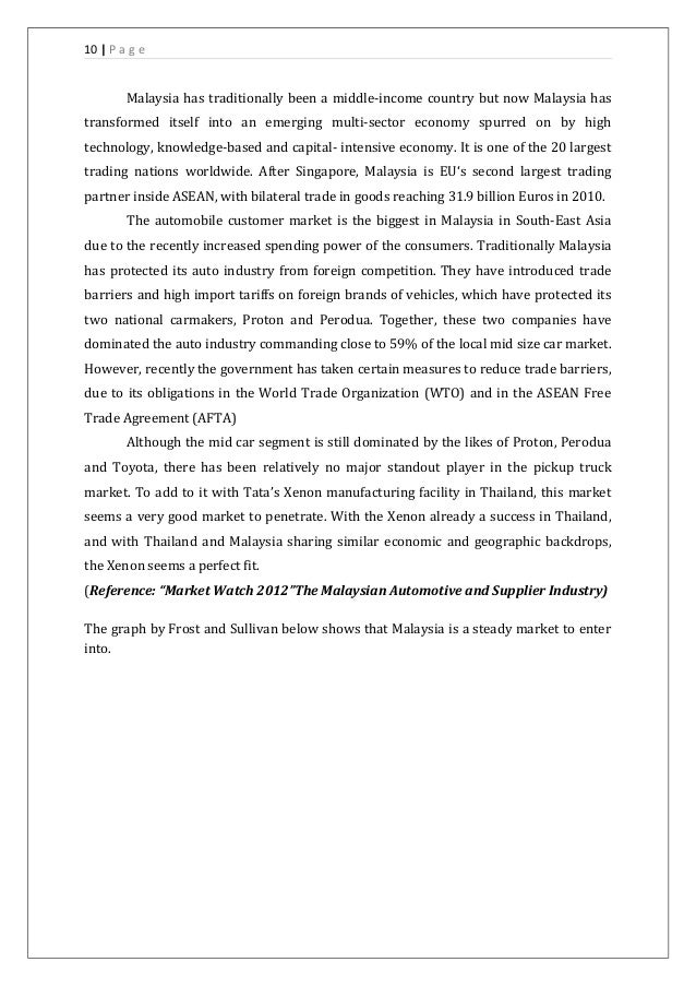 market entry strategy malaysia Toyota 's business strategies in international mihaela funaru ph d student university of braşov faculty of economics and business administration braşov, romania.