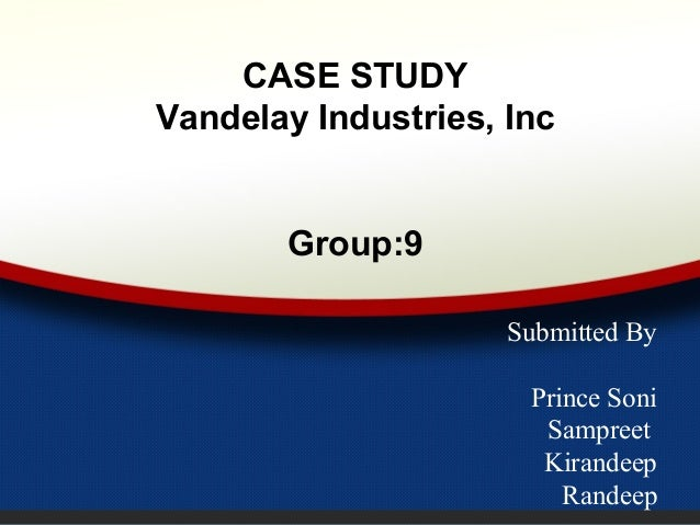 vandelay case analysis