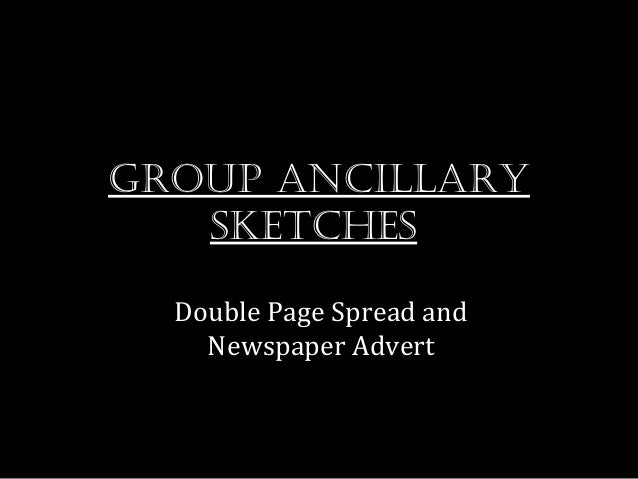 Group ancillary sketches