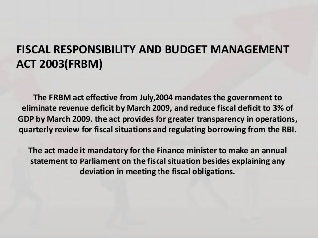 fiscal management responsibility act no 3 Financial management guide for non-profit organizations  charged with a fiduciary responsibility to see that the taxpayers' money is used  grantees' financial.