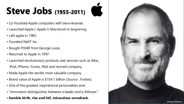 the success story of steve jobs Commentary and archival information about steve jobs from the new york times  covered elsewhere but uses his personal story as vehicle to add a new dimension  recipe for success  an aging.