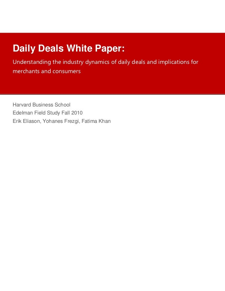 Group Buying White Paper