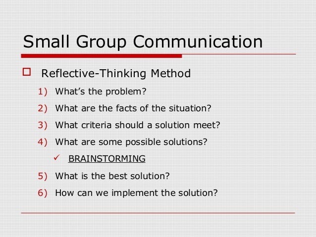 reflective essay on group communication Reflective essay on communication and behaviour of the individual and/or group communication can be a reflective essay this is a reflective essay.