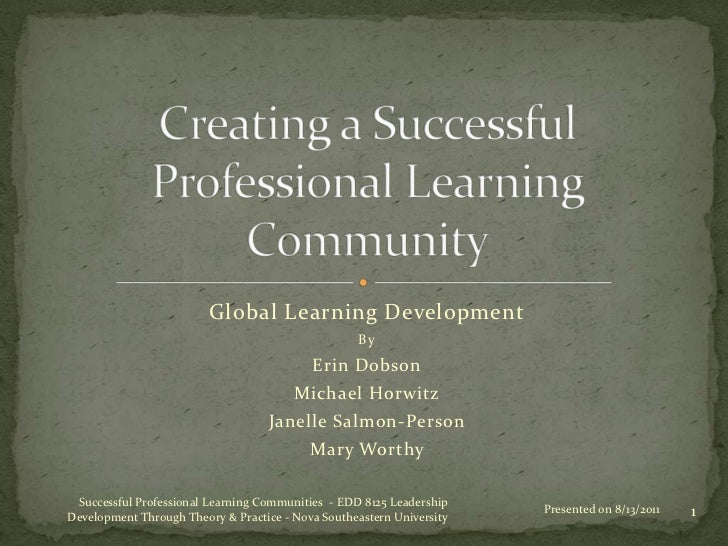 Tool for implementing Professional Learning Communities in your school