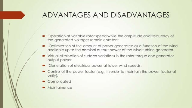 Advantages and Disadvantages of Advanced Technology
