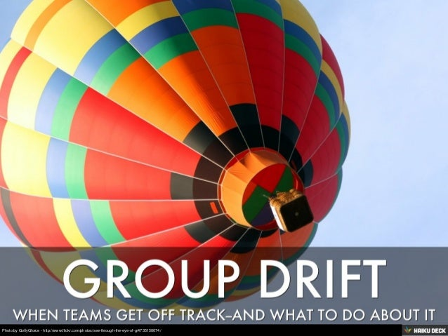 Group Drift