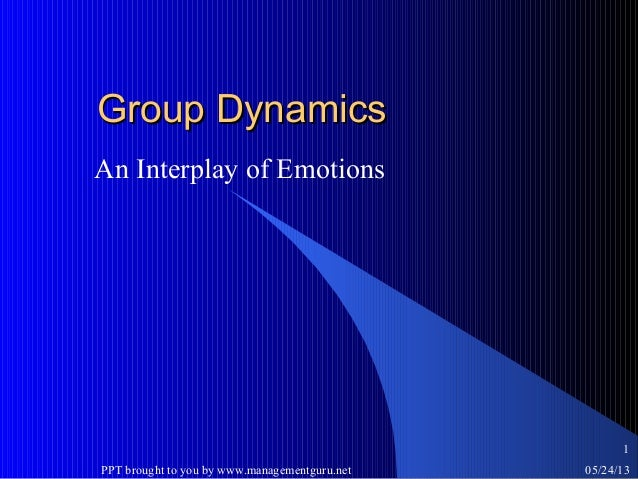group dynamics study guide The chemistry of high-performing groups is no longer a mystery  laboratory,  we have identified the elusive group dynamics that characterize  for our studies , we looked across a diverse set of industries to find workplaces  shape and  guide the team so that it follows successful communication patterns.