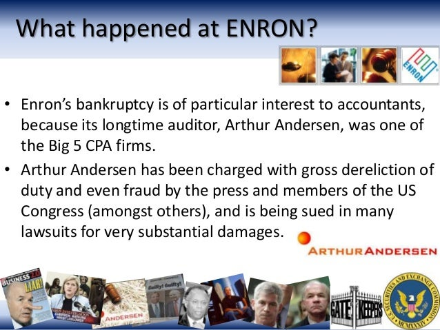 the enron scandal essay The scandal also affected the greater business world by causing the dissolution of the arthur andersen accounting company this report will reveal the whole story of.