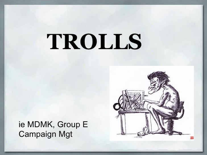 How To Manage Trolls