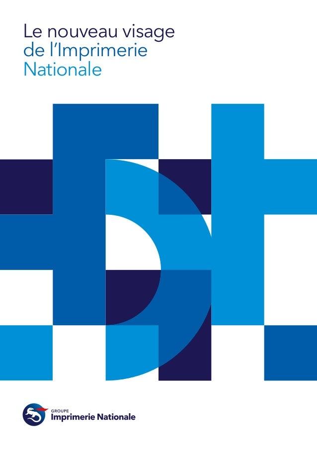 Groupe imprimerie nationale brochure corporate-2013