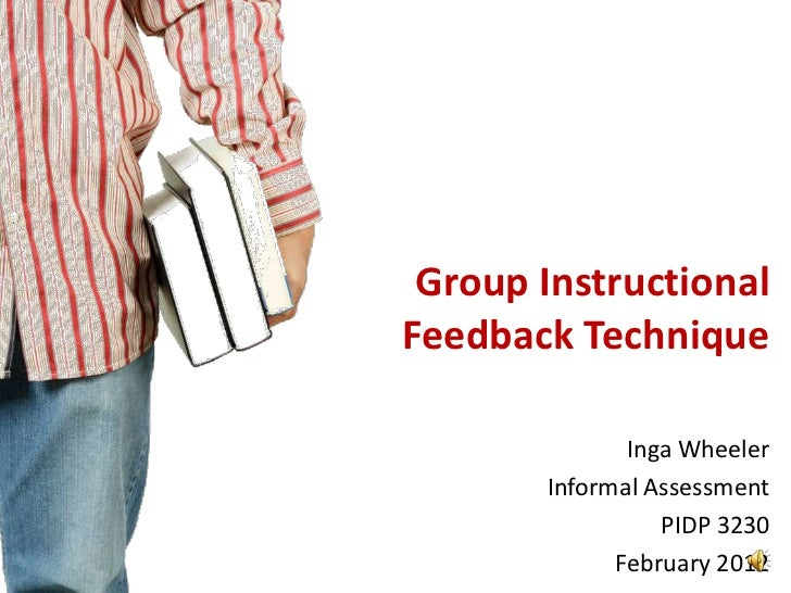 Group Instructional Feedback Technique