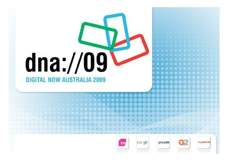 Digital Media, Search & Mobile Planning - DNA09