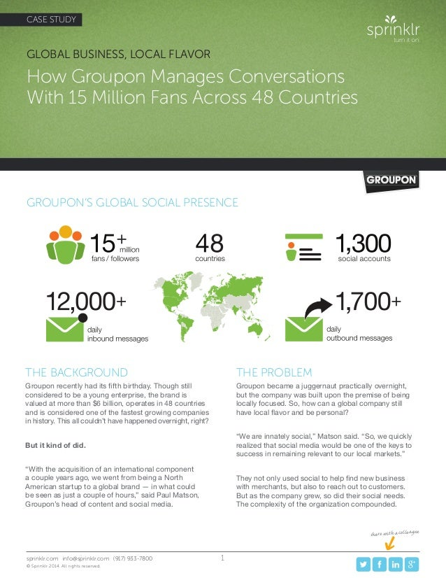How Groupon Manages 15 Million Social Relationships