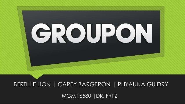 BERTILLE LION | CAREY BARGERON | RHYAUNA GUIDRY MGMT 6580 |DR. FRITZ