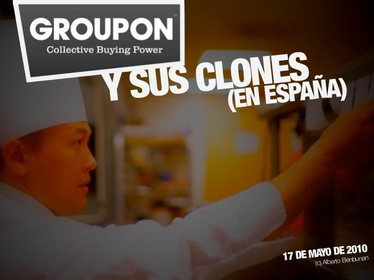 Groupon y sus clones (en España)